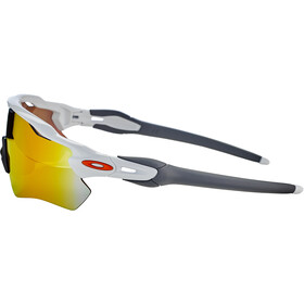 Oakley Radar EV Path Lunettes de soleil, polished white/fire iridium